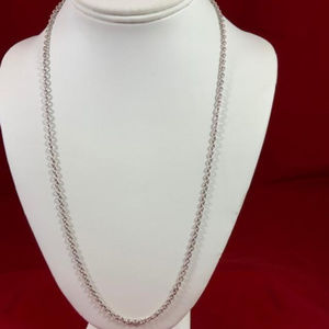 "James Avery Sterling Silver 24"" Heavy Cable Chain"
